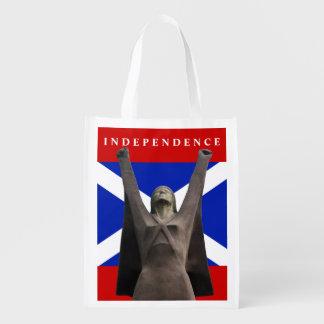 Scottish Independence La Pasionaria Grocery Tote Market Tote