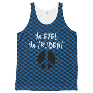 Scottish Independence No EVEL No Trident All-Over-Print Tank Top