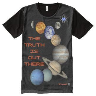 Scottish Independence Outer Space Media All-Over-Print Shirt
