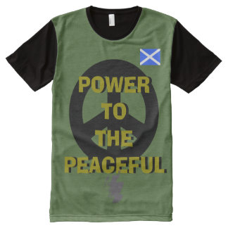 Scottish Independence Peace T-Shirt