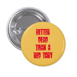Scottish Independence Red Tories Badge Pin
