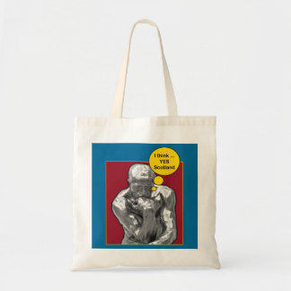 Scottish Independence Rodin Thinker Bag