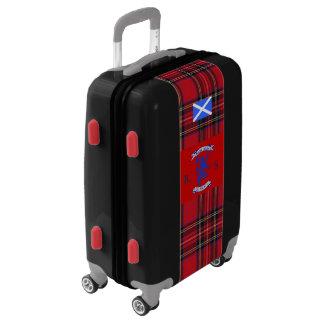 Scottish  Independence Royal Stewart Tartan Gaelic Luggage