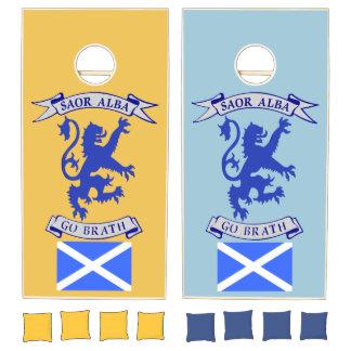 Scottish Independence Saor Alba Corn Game Set