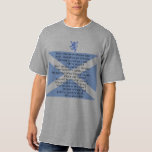 Scottish Independence Scots Wha Hae Song T-Shirt