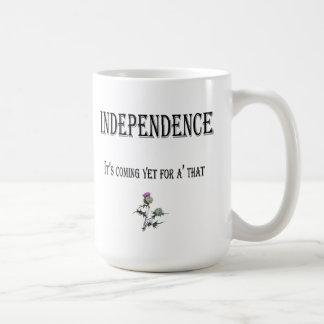 Scottish Independence Thistle Mug