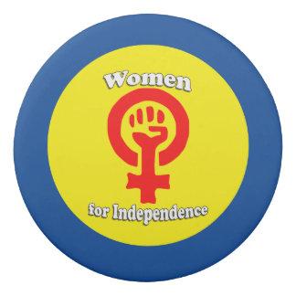 Scottish Independence Women Symbol Eraser