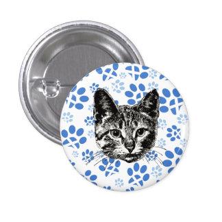 Scottish Independence Yes Cat Badge Pin