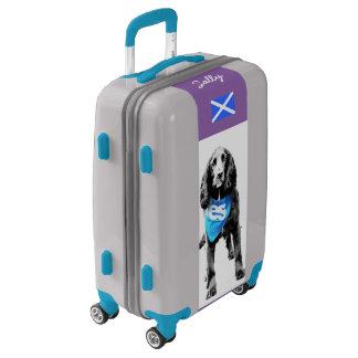 Scottish Independence Yes Spaniel Dog Luggage