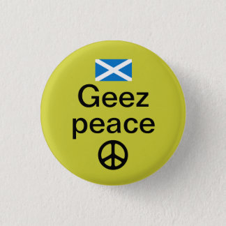 Scottish Indyref Peace Pinback Pinback Button