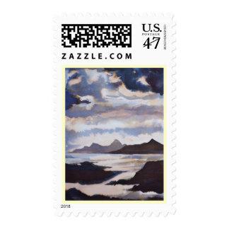 Scottish Isles Postage Stamp