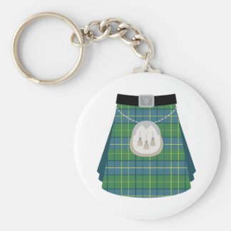 Scottish Kilt Keychain