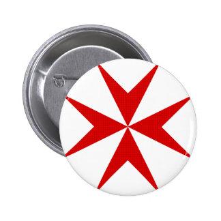 Scottish Knights Templar Cross Button