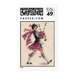 Scottish Lady Stamp