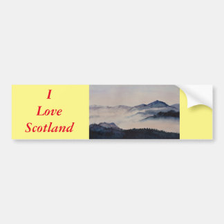 Scottish Landscape 2 Bumper Sticker