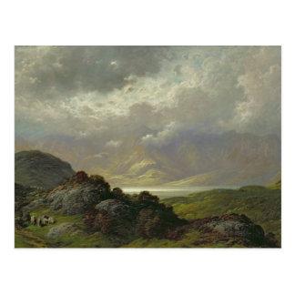 Scottish Landscape Postcard