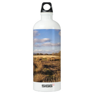 Scottish Landscape Sunset Aluminum Water Bottle