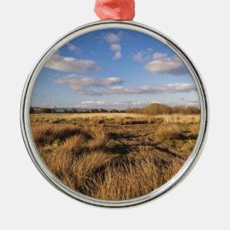 Scottish Landscape Sunset Metal Ornament