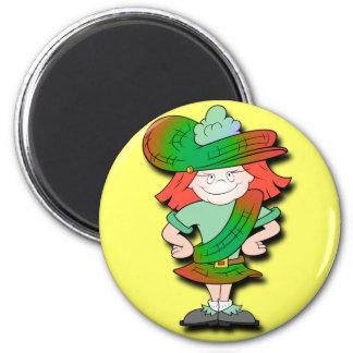 Scottish Lassie Magnets