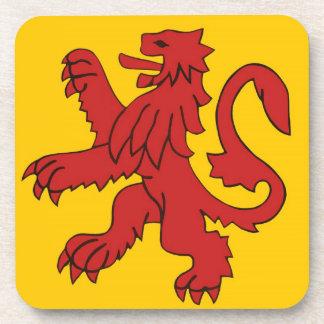 Scottish lion. coasters