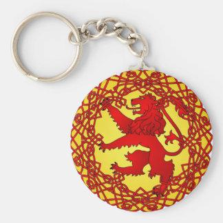 Scottish Lion Keychain