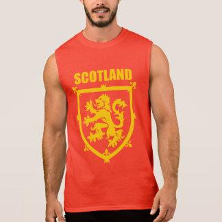 Scottish Lion Rampant Coat of Arms Sleeveless T-shirt