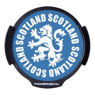 Scottish Lion Rampant LED Window Decal