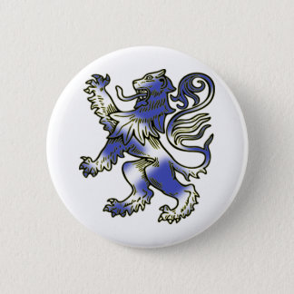 Scottish Lion Rampant Pinback Button