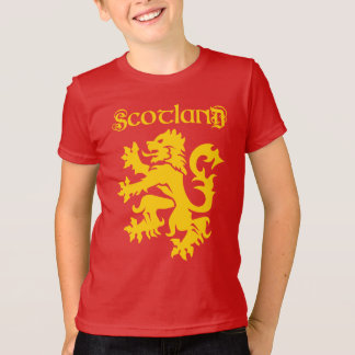 Scottish Lion Rampant Symbol T-Shirt