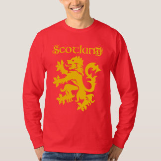 Scottish Lion Rampant Symbol T-Shirt