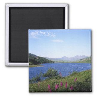 Scottish Loch 2 Inch Square Magnet