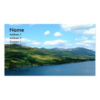 Scottish Loch Business Card