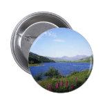 Scottish Loch Pinback Buttons