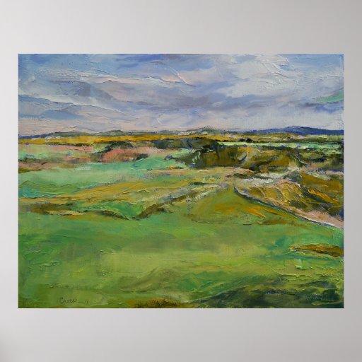 Scottish Lowlands Print
