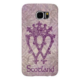 Scottish Luckenbooth Purple Celtic Knot Samsung Galaxy S6 Case