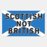 Scottish Not British sticker