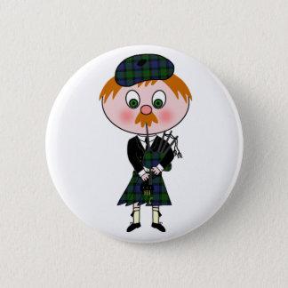 Scottish Pagpiper Button