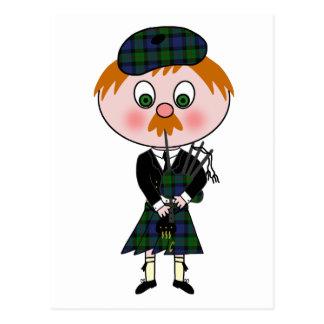 Scottish Pagpiper Postcard