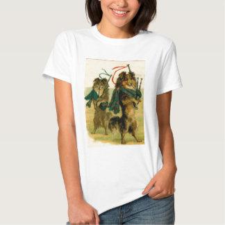 Scottish Piper Dogs Tee Shirt