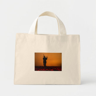Scottish Piper Mini Tote Bag