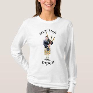 Scottish Piper - Tan Kilt T-Shirt