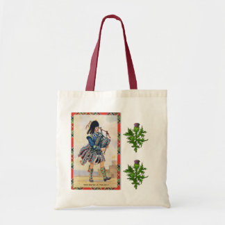 Scottish piper, the Swing of the kilt Tote Bag