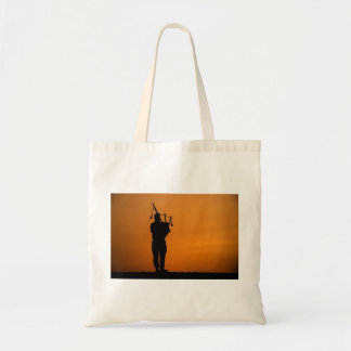 Scottish Piper Tote Bag