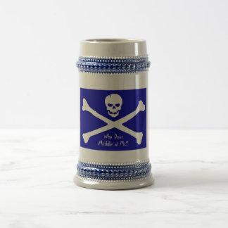 Scottish Pirate Beer Stein