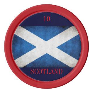 Scottish Poker Chip Poker Chip Set at Zazzle