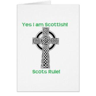 Scottish Pride Card