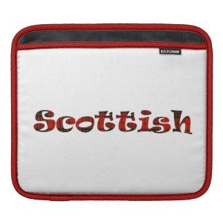 Scottish Pride double-sided iPad Sleeves