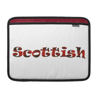 Scottish Pride double-sided MacBook Air Sleeves