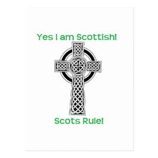 Scottish Pride Postcard