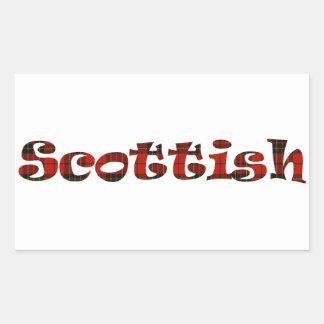 Scottish Pride Rectangular Sticker